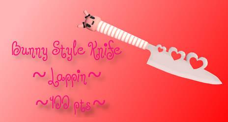 Bunny Style Knife Lappin P2U