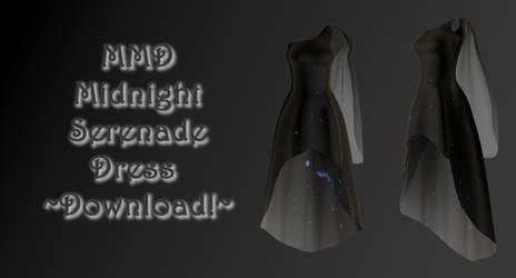 MMD Midnight Serenade (Maxi Dress) ~Download!~
