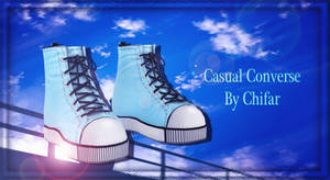 [MMD] Casual Converse [DOWNLOAD CLOSED] by MaiMami