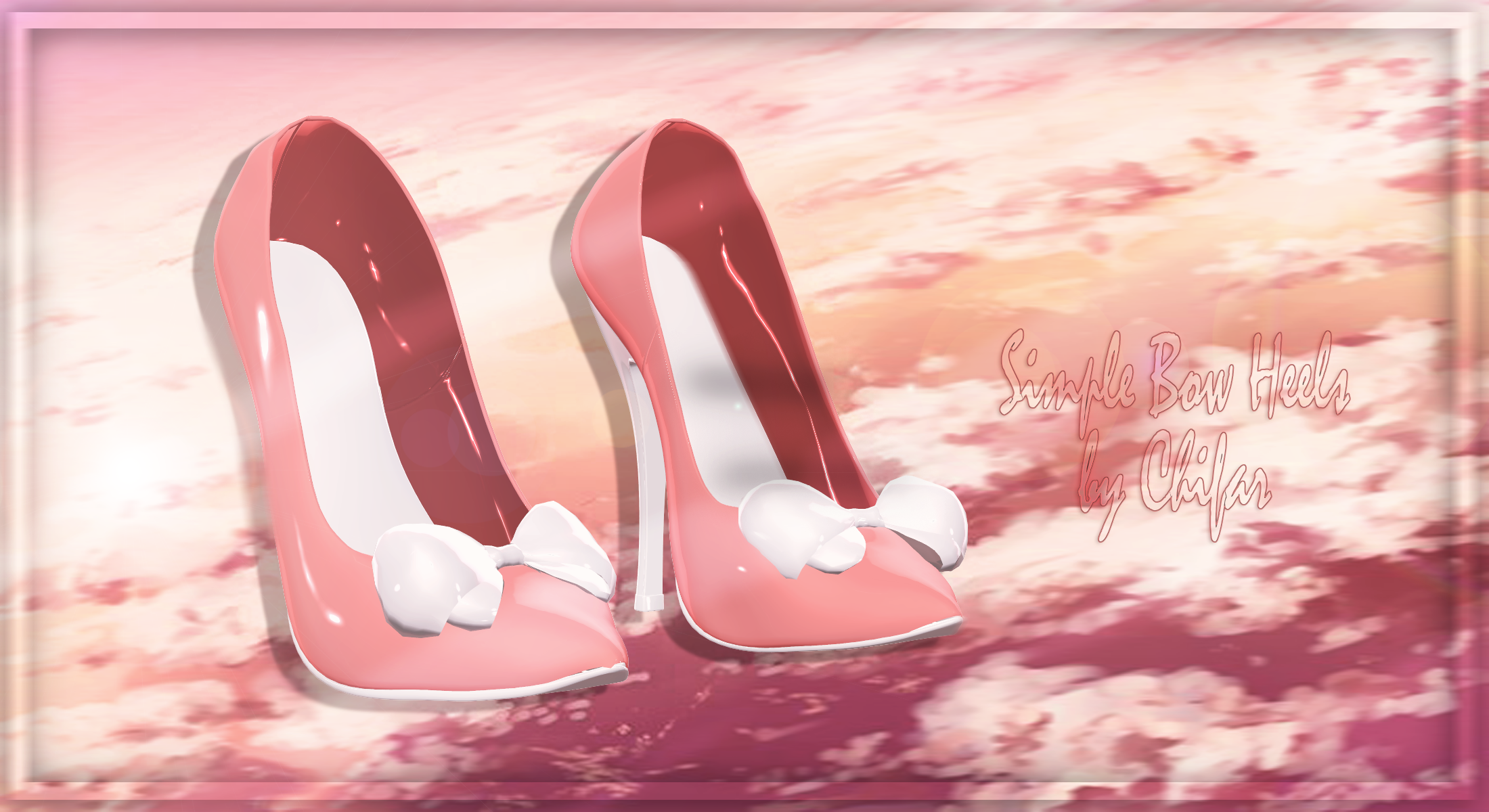 [MMD] Simple Bow Heels [DL CLOSED]