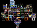 [MMD] Arcade Cabinets DL - NEW LINK IN DESCRIPTION