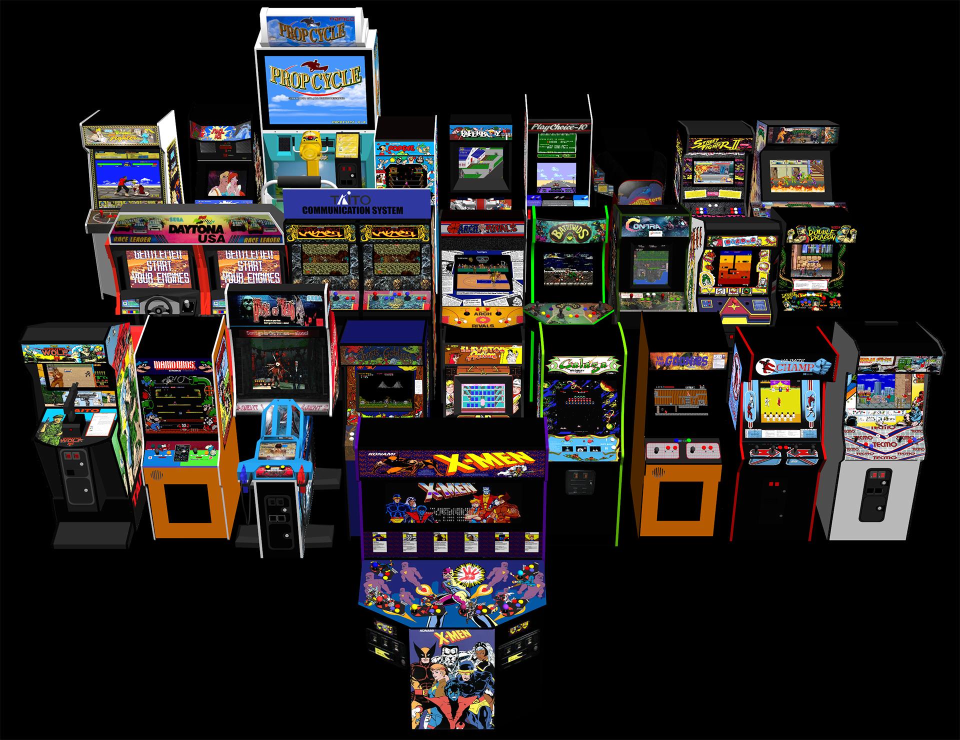 mmd  arcade cabinets dl by mrwhitefolks on deviantart