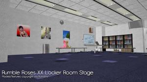 [MMD] Rumble Roses XX Locker Room DL