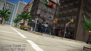 [MMD] Rumble Roses XX - Streetfight Stage DL