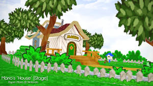 [MMD] Paper Mario House DL