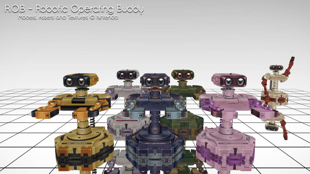 MMD] R O B the Robot DL by MrWhitefolks on DeviantArt