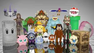 [MMD] Nintendo Leftovers - DL by MrWhitefolks