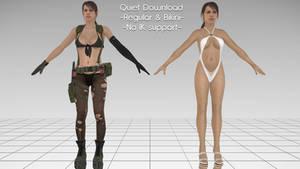 [MMD] Quiet (includes Bikini ver) - DL
