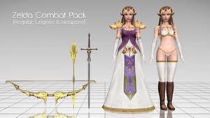 [MMD] Zelda Combat Pack - DL