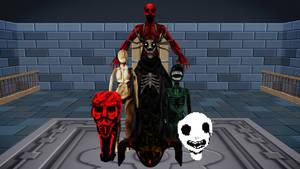 [MMD] Spooky's Jumpscare Mansion Pack - DL