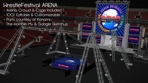 [MMD] WrestleFestival Arena - DL