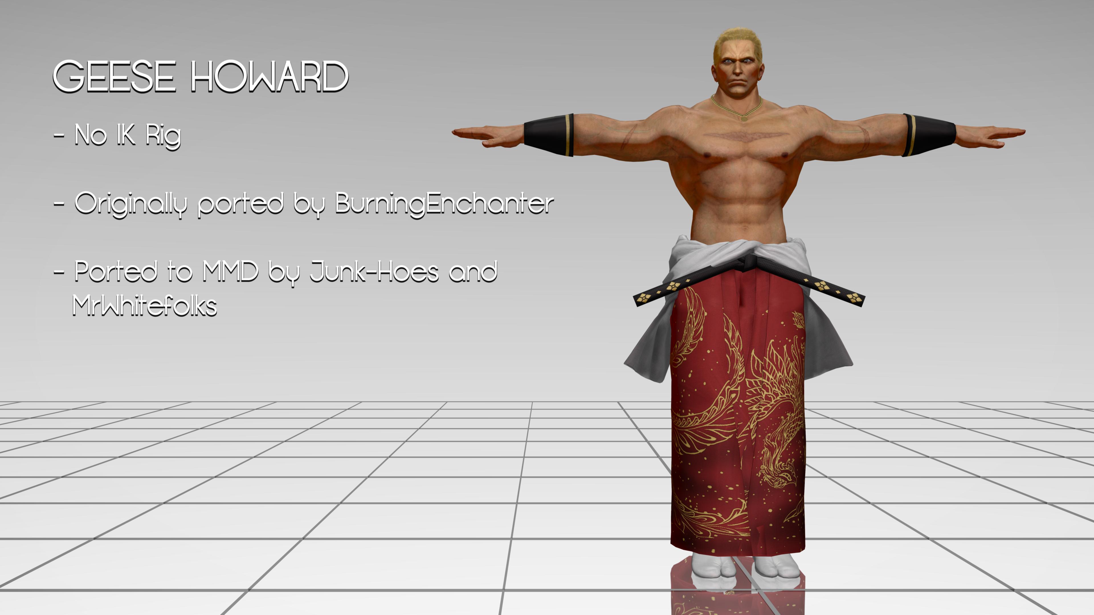 Mmd Geese Howard Tekken 7 Dl By Mrwhitefolks On Deviantart