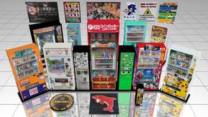 [MMD] Akihabara Vending Machines -- DL