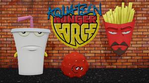 [MMD] Aqua Teen Hunger Force -- DL
