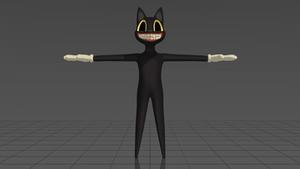 [MMD] Cartoon Cat -- DL