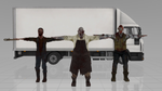 [MMD] Phasmophobia Ghosts and Truck -- DL by MrWhitefolks
