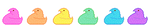 Peep Chick Divider 2 F2U by Nerdy-pixel-girl