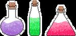 Potions F2U by Nerdy-pixel-girl
