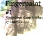fingerpaint brushes