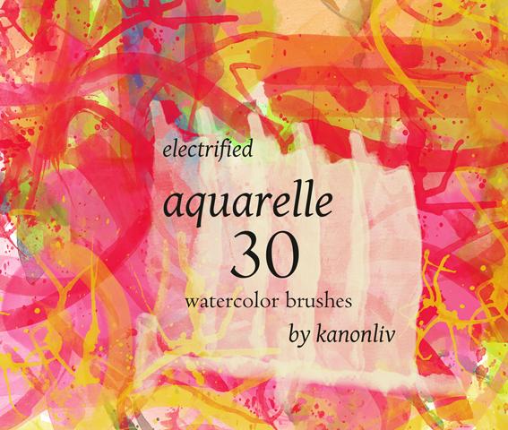 electrified aquarelle brushes