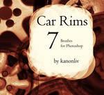 Car Rim Brushes