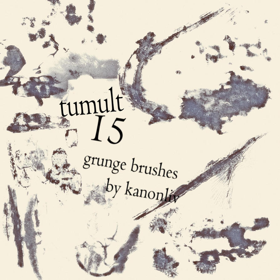 Tumult Grunge Effects Brushes