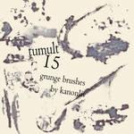 Tumult Grunge Brushes