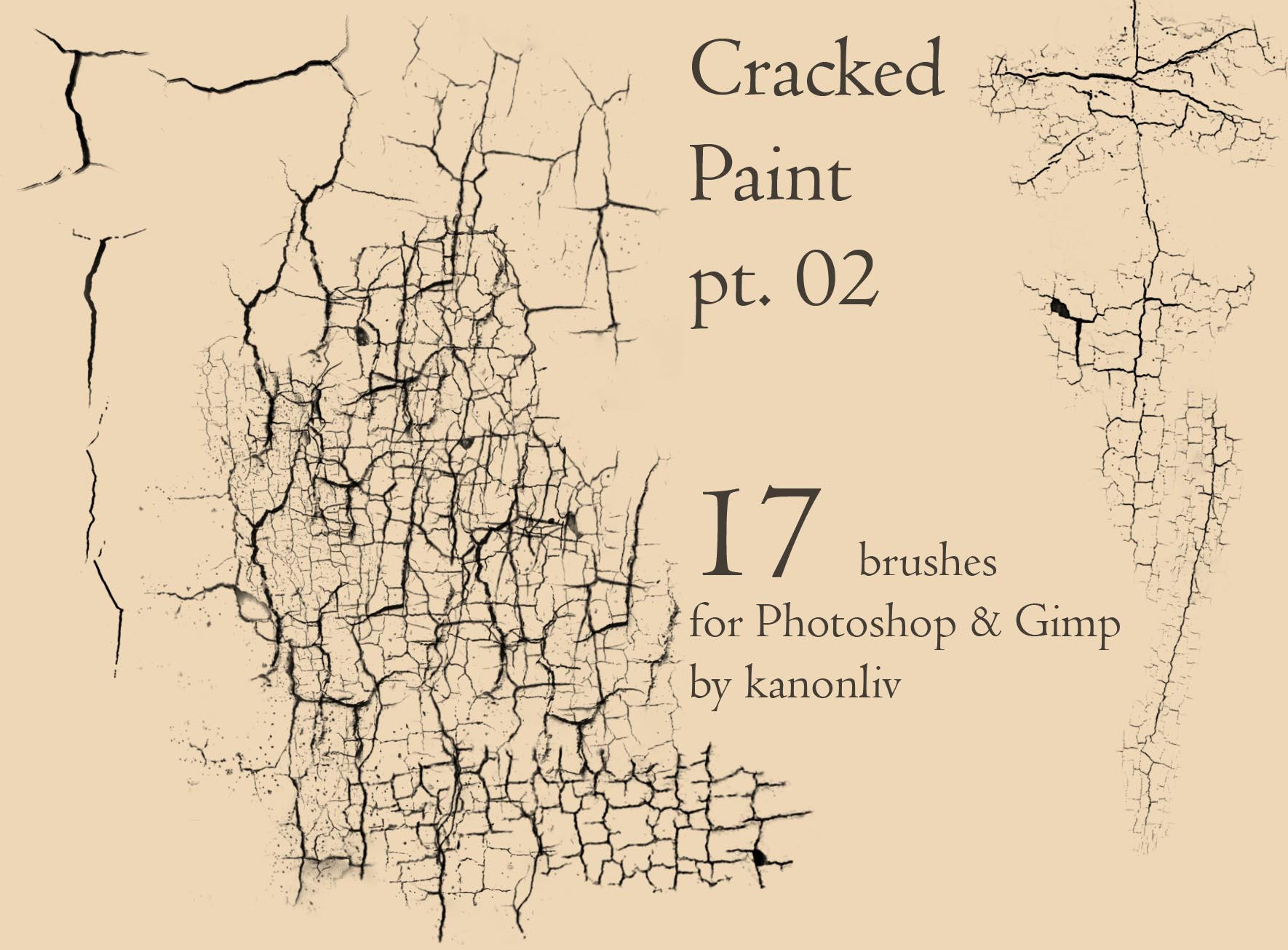 Cracked Paint Brushes pt 2 by kanonliv