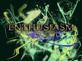 21 Enthusiasm Brushes by kanonliv
