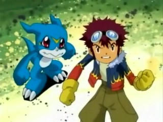 Digimon Story Sample (Davis/Flamedramon POV) by EndOfGreatness