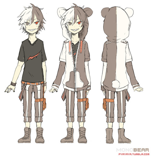 Happy Birthday] Monokuma X Female! Reader by KawaiiPlum on DeviantArt