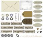 Digital Scrap Embellishments 1