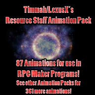 Resource Staff Animation Pack by LexusX