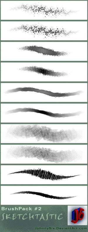 Sketchtastic brush pack