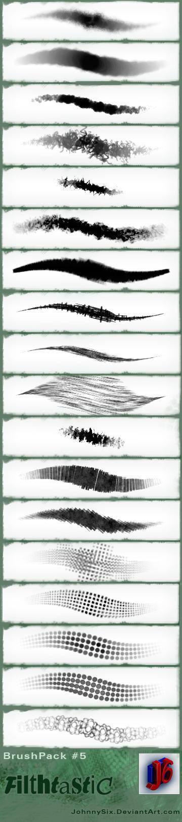 Filthtastic brush Pack by JohnnySix