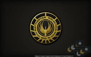 BSG Logo Wall by SKoriginals