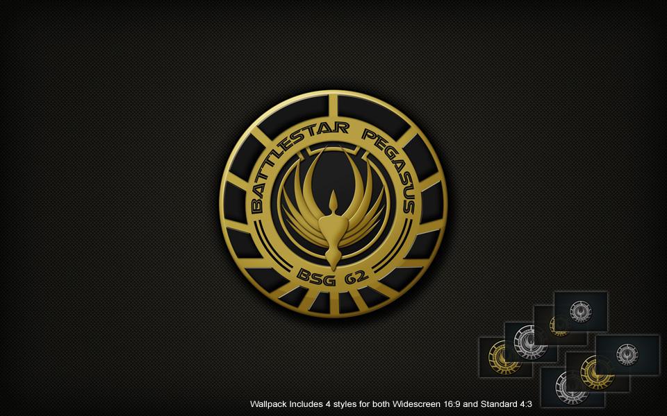 BSG Pegasus Logo Wall by SKoriginals