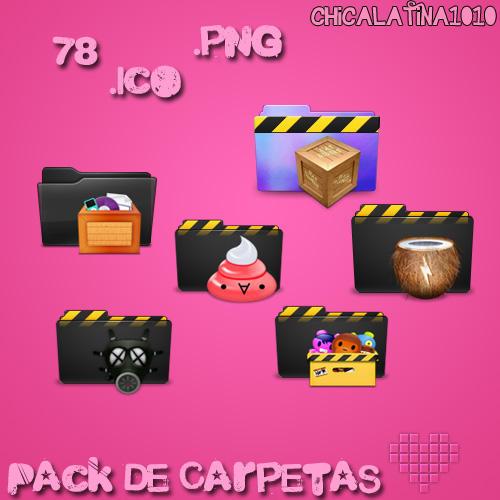 Pack de Carpetas by Chicalatina1010
