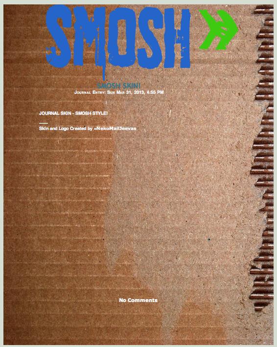 SMOSH Journal Skin by KalteEinsamkeit