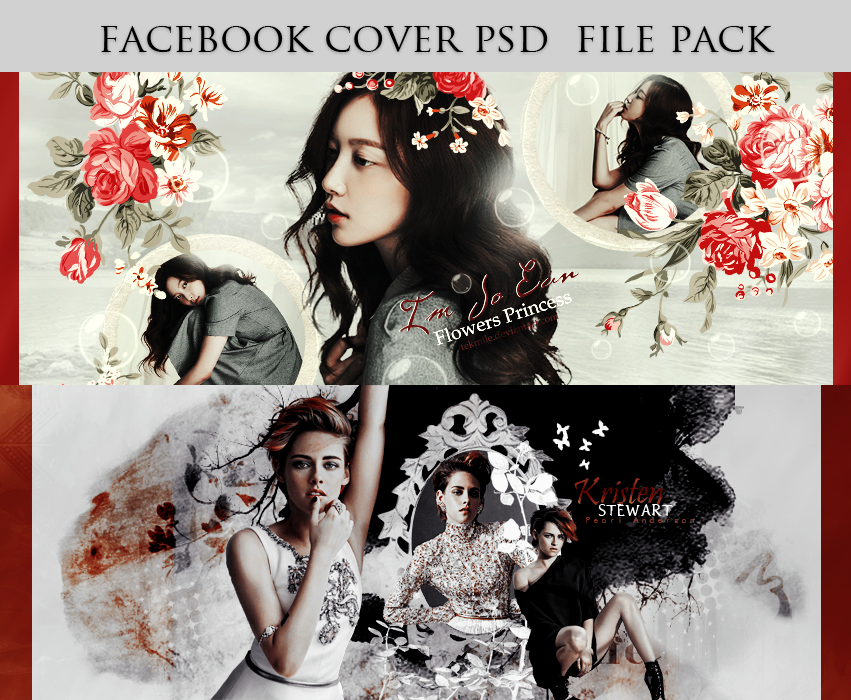 Facebook Cover Psd File Pack