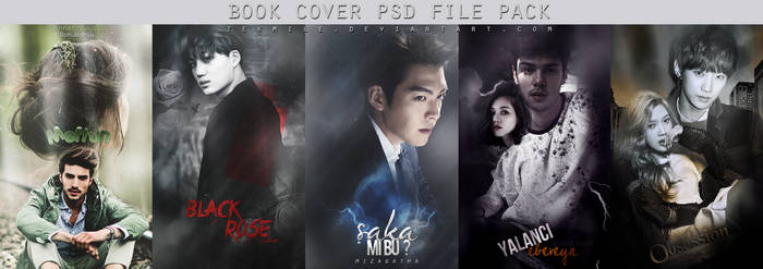 Book Cover Psd File Pack 4