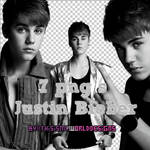 7 pngs Justin Bieber by ThisIsMyWorldDesigns