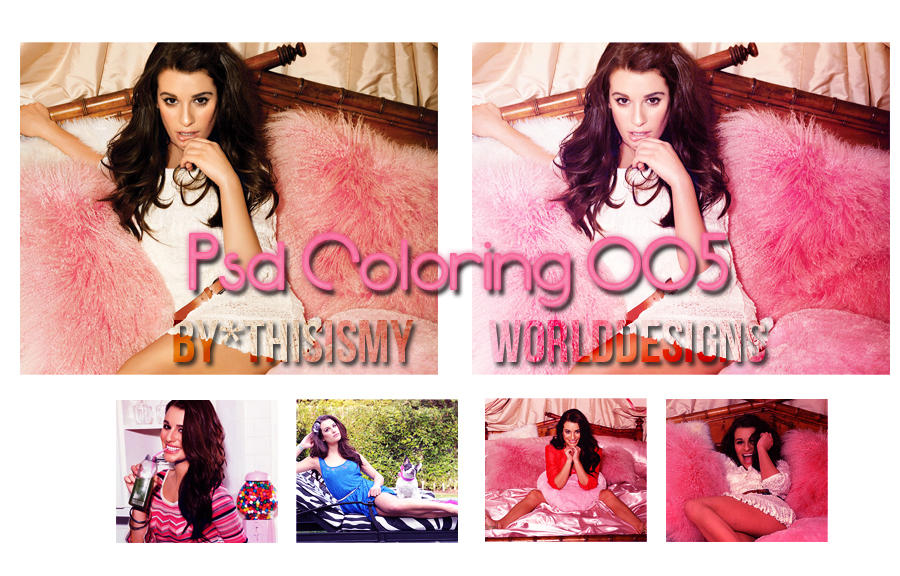 PSD Coloring 005 by ThisIsMyWorldDesigns