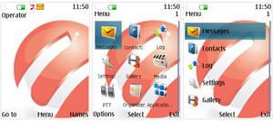 Nokia Cherry Mobile UI s40