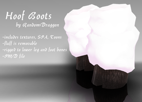 Hoof Boots DL by DesertDraggon