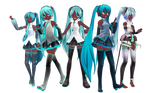 Black Miku Set