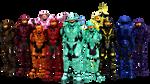 MMD Red vs Blue Teams+ [DL]