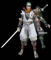 MMDxOverwatch: Young Genji DL by DesertDraggon