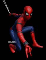 MMD Spider-Man: Homecoming DL by DesertDraggon