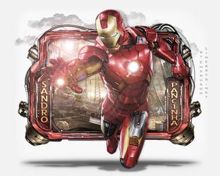 Iron Man sign by Emeruson